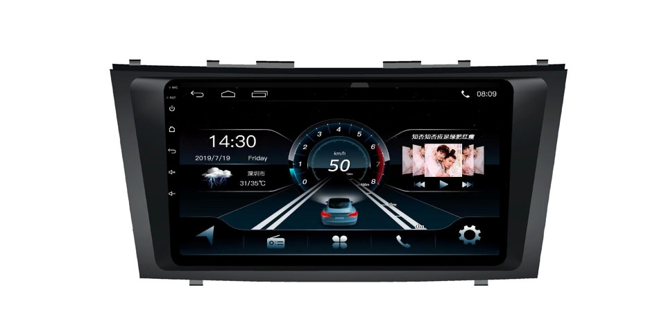 Toyota Camry 2006 Car Gps Android