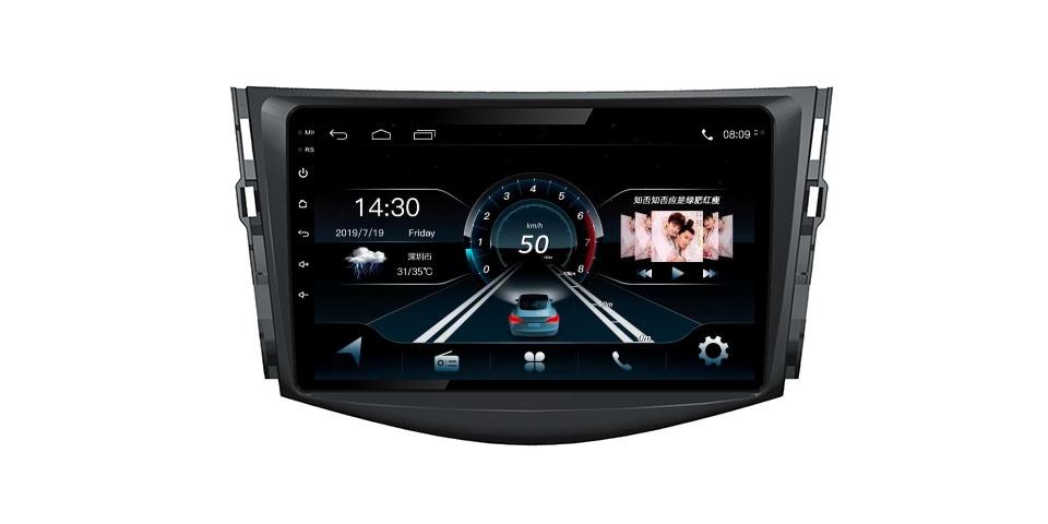 Toyota RAV4 2009 Car Gps Android